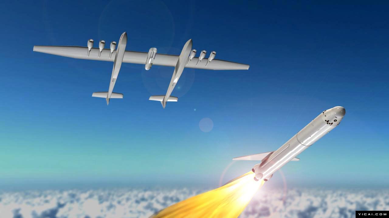 全球最大太空飞机将组装完毕 翼展宽过足球场
