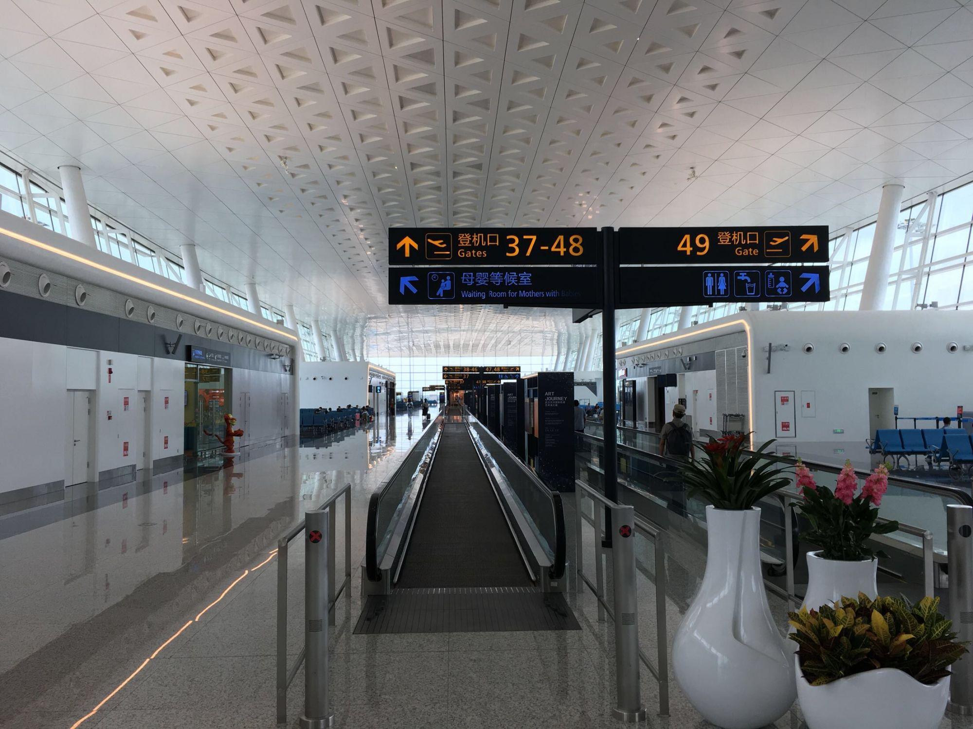 天河机场t3航站楼启用